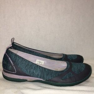 Merrill select fresh teal flats size 8 comfort
